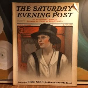 Vintage Other - April 16, 1921 The Saturday Evening Post